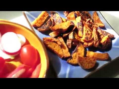 И опять наш Сладкий картофель.����Ямммм!!!����