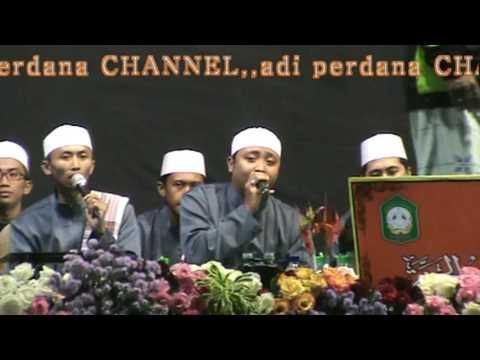 kasidah majelis riyadlul jannah di SMAI kepanjen malang 28 januari 2017