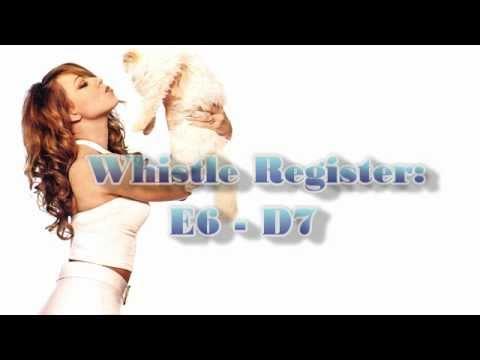 Mariah Carey - Vocal Range: Daydream (C3 - D7)
