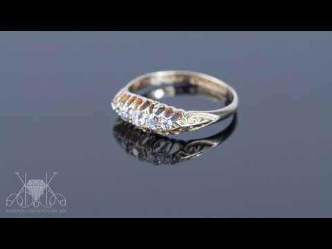 edwardian-old-cut-diamond-engagement-ring,-titanic-era-ring