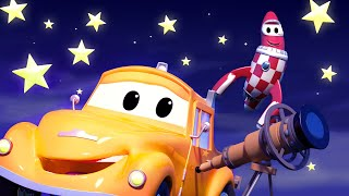 Twinkle Twinkle Little Star - Nursery Rhymes Songs for Children with Trucks of Car City