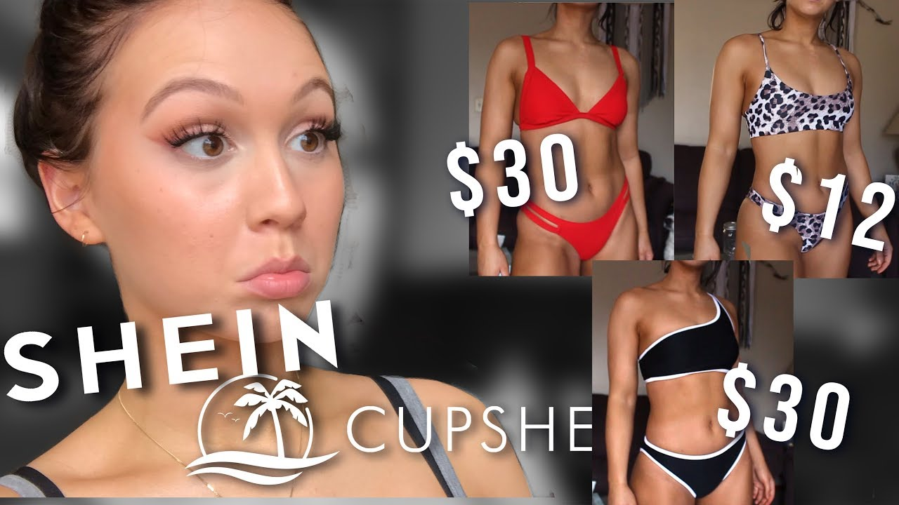 4317859bce HUGE affordable swimsuit try-on haul: SheIn, Cupshe, Target & Old Navy |  Elora Jean