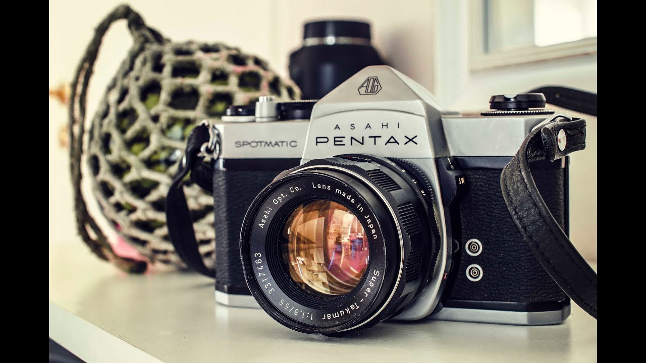 Unboxing Retro Vintage Camera | Pentax Asahi Spotmatic SP - YouTube