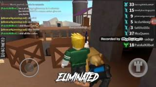 Roblox Assassin (classic mode) ep3 a prestige 50 joined our server at the end