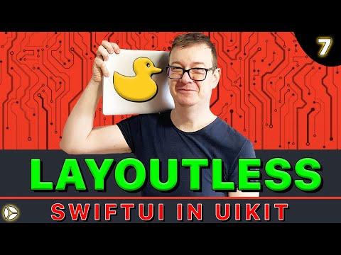 SwiftUI in UIKit - Layoutless | Swift 5, Xcode 10 thumbnail
