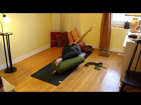 The Importance of Rest  - dynamic supine twist