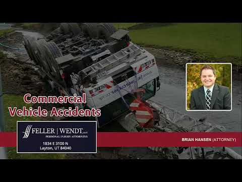 The Biggest Challenges In A Commercial Vehicle Accident Claim In Utah | (801) 383-2189