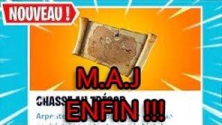 [🔴 DIRECT FORTNITE ] M.A.J LA CARTE AU TRESOR EST ARRIVER ! + GAME ABOS