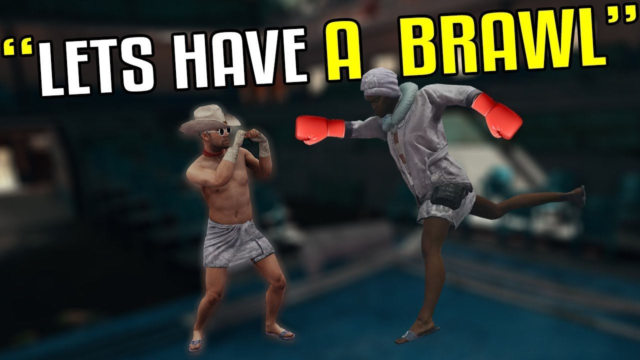 Funny Voice Chat - PUBG - Boxing Match - YouTube