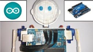 Fabrica tu robot humanoide con Arduino
