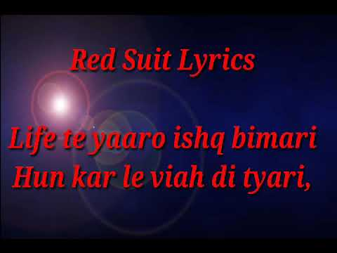 RED SUIT / LYRIC / NEHA BHASIN / HARISHAT...