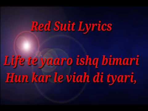 RED SUIT / LYRIC / NEHA BHASIN / HARISHAT...