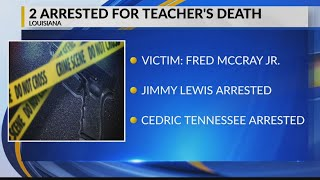 Mississippi teacher killed in Louisiana; 2 arrested