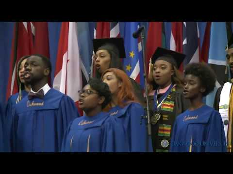 Oakwood University 2018 Graduation Weekend Aeolians Mini-Concert