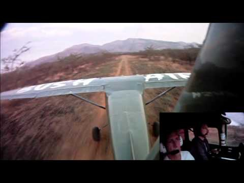 Safe flying in Africa: CC Pocock & The Glasper's Steeple