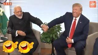 VIDEO : PM Modi And Donald Trump Fun At G7 Meeting   #PMModiG7   YOYO TV Kannada