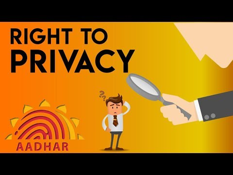 Right to privacy in India - Is it absolute? Should it be a f