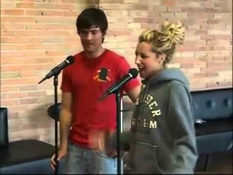 Zac Efron and Ashley Tisdale  MusVid net