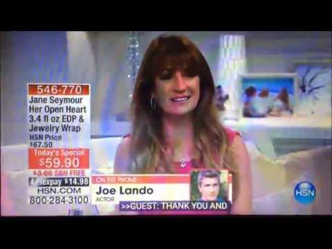 Jane Seymour & Joe Lando on HSN