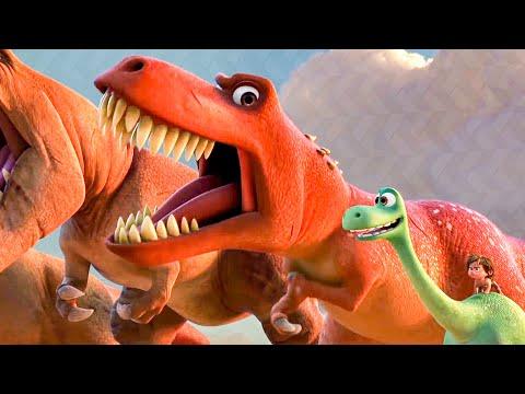 Arlo Tries To Roar Scene - THE GOOD DINOSAUR (2015) Movie Clip