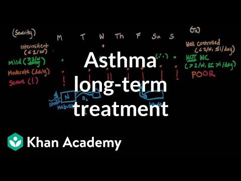 Asthma longterm treatment | Respiratory system diseases | NCLEX-RN | Khan Academy