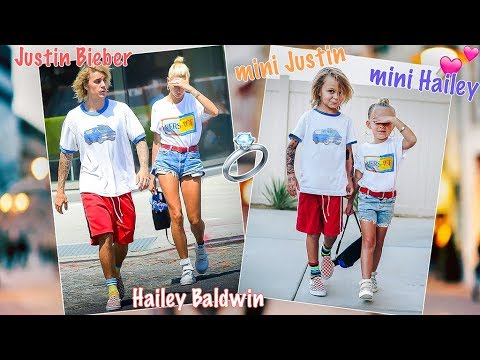 Meeting Mini Justin Bieber & Hailey Baldwin! 💍 Exclusive LIVE Proposal