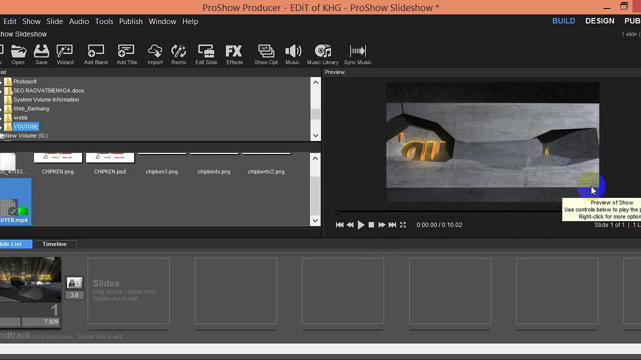 Proshow Producer - Cách chèn logo hình ảnh vào Video - Hai Nguyen Channel