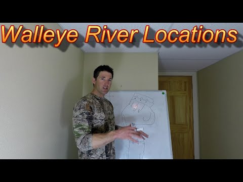 Spring Walleye Fishing - 5 Key Locations For Spring River Walleyes