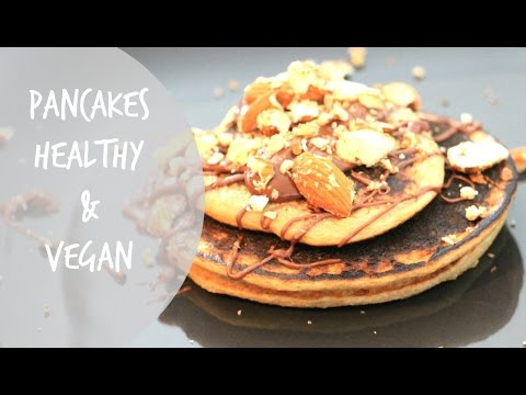 pancakes-~-healthy-&-vegan-~