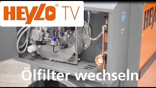 HEYLO TV: Wie wechsele ich einen Ölfilter bei einem Ölheizer? #heylotv #Ölfilter #Ölheizer