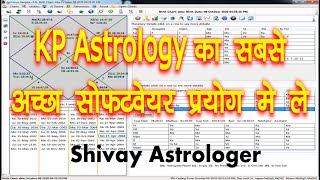 Best KP Astrology Software free , KP Starone Alternative Software (Jyotishya Deepika) screenshot 3