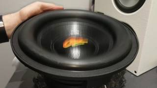 Ground Zero Hydrogen 10 - Old School Subwoofer!