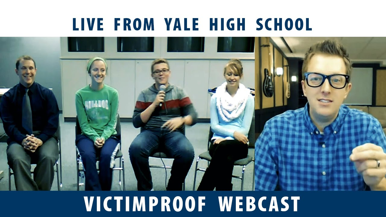 Victimproof Webcast Yale High School Talks About Student Mentoring