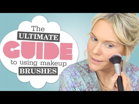 ULTIMATE GUIDE TO MAKEUP BRUSHES | Makeup Artist!