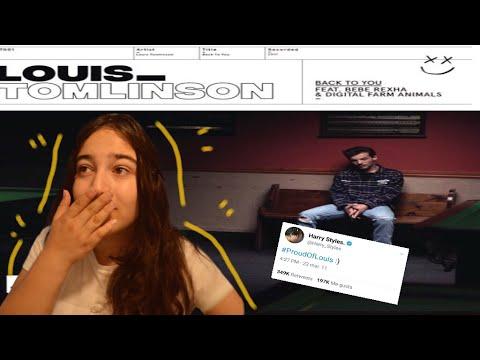 LOUIS TOMLINSON ft. BEBE REXHA - BACK TO YOU || REACTION