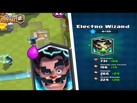 ELECTRIC WIZARD LEVEL 4 l CHEST OPENING l GAMEPLAY Clash Royale [PongTV]
