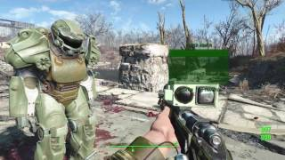Fallout 4 Mods Halo weapons, MGS aiming and Labyrinth