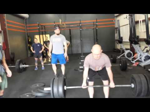 Trey Curtis at Be Challenged CrossFit