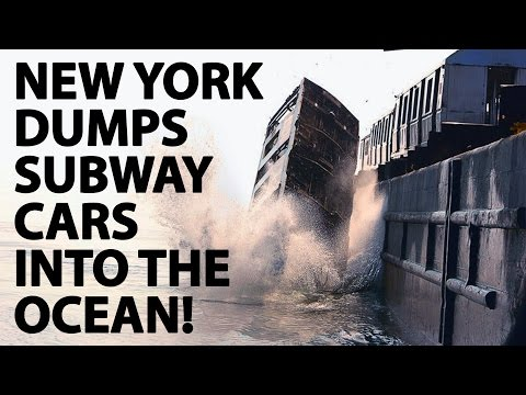 new-york-is-dumping-their-old-metro-cars-into-the-ocean!?