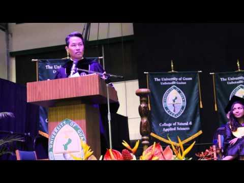 Commencement | Fall 2015 - Richard Lui, Commencement Speaker