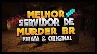 MELHOR SERVIDOR DE MURDER COM TEXTURA BR SEM LAG! Pirata e Original 1.8 [EdenCraft]