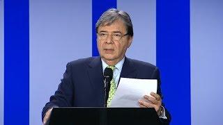 Colombia dijo que Estados Unidos no le planteó el envío de tropas al país