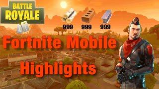 Fortnite Mobile Stream Highlights