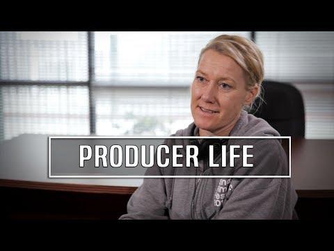 Life Of A Movie Producer On Set - Christina Sibul