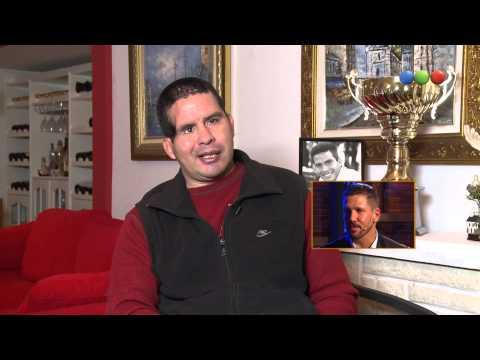 Fernando Cáceres le habla al Cholo Simeone - Gracias por venir