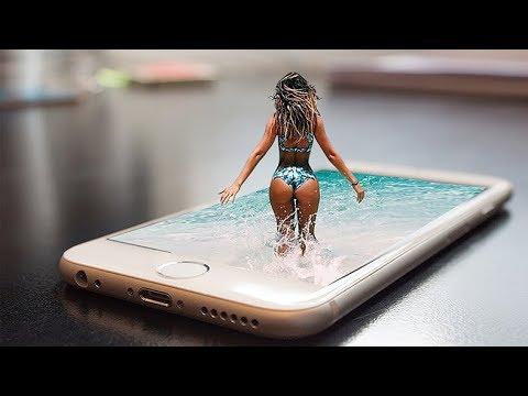 Photoshop Tutorial – Hướng dẫn làm ảnh 3D nổi trên điện thoại trong photoshop