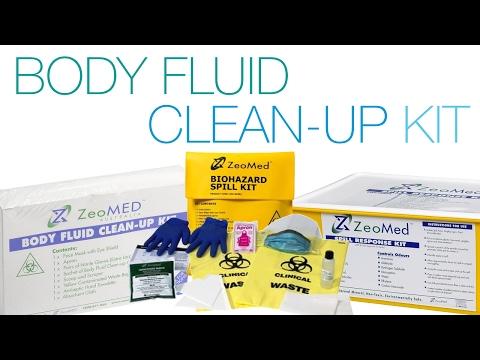 Biohazard Spillage Kit Urine Vomit Clean Up For Healt