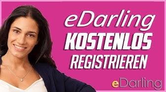 Bei eDarling kostenlos registrieren - Schritt-für-Schritt