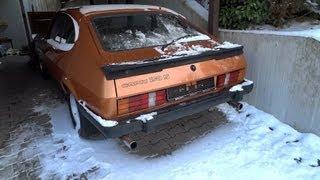 1981 Ford Capri 2.3 V6 cold start in winter(, 2013-02-09T17:54:52.000Z)