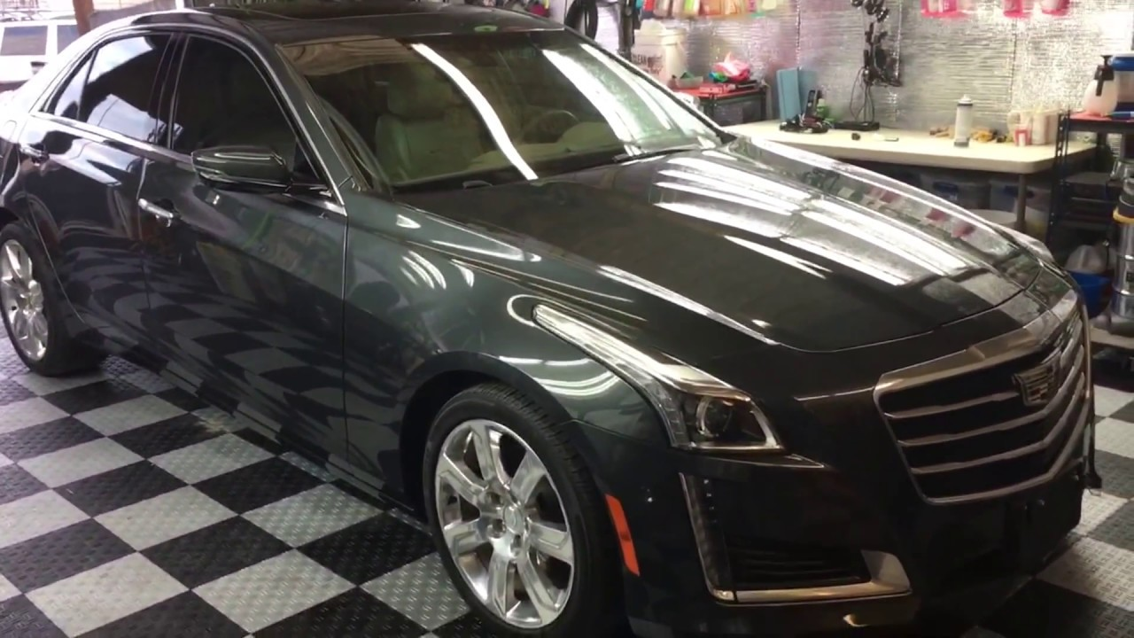 2015 cadillac cts polish ceramic coating auto detailing austin llc youtube. Black Bedroom Furniture Sets. Home Design Ideas